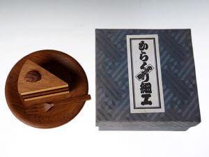 からくり箱安兵衛作(亀井明夫)秘密箱