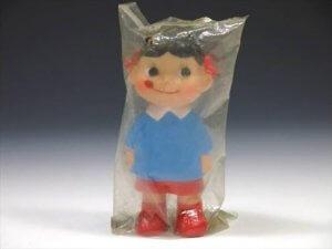 不二家ペコちゃん ソフビ人形 未開封品
